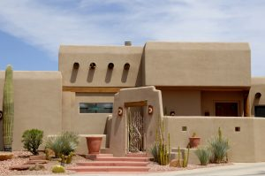 Southwest Adobe Home